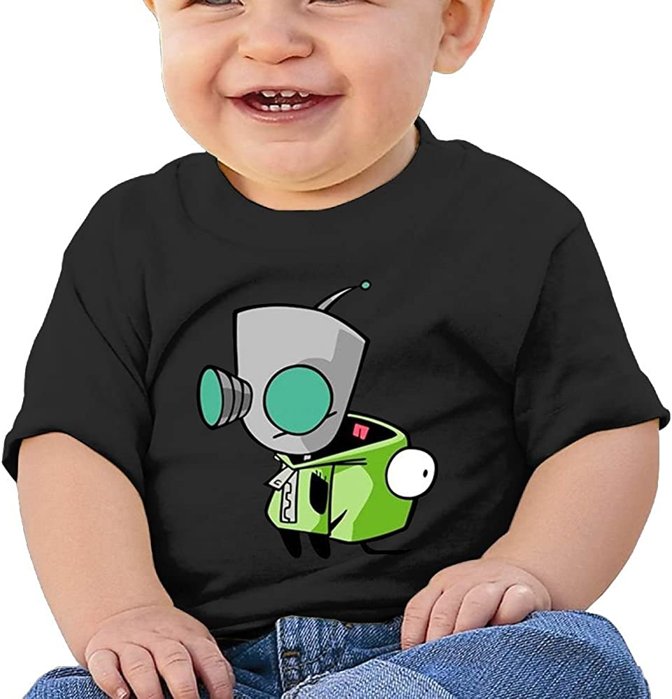 Jackson 6-24 Month Baby T-Shirt Wild Kratts Logo Personalized Fashion Customization Black Vito H