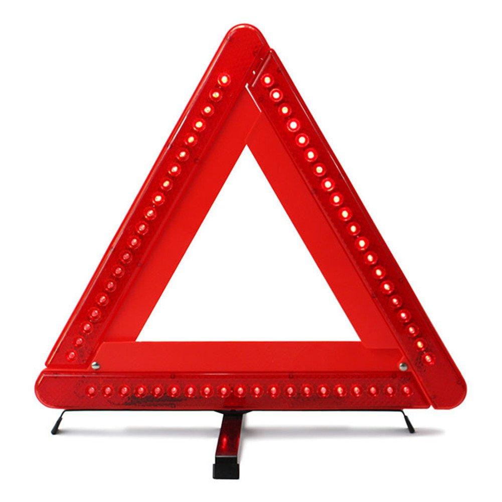 AUTLY faltbares Triangolo LED di sicurezza per auto/Bordo strada riflettente triangolo di emergenza riflettore Flash GEBER