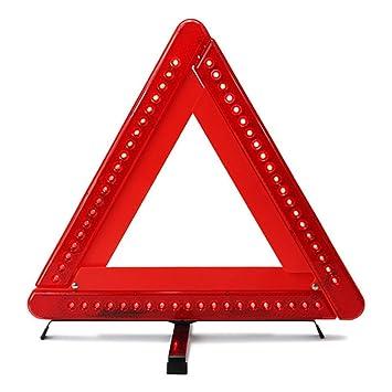 5353bc63d Amazon.es: Plegable Advertencia Triángulo LED Seguridad Coche / Borde de  carretera Reflectante Emergencia Triángulo Reflector Intermitente