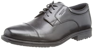 7419ab093f9f95 Rockport Men s Essential Details Waterproof Cap Toe Shoes