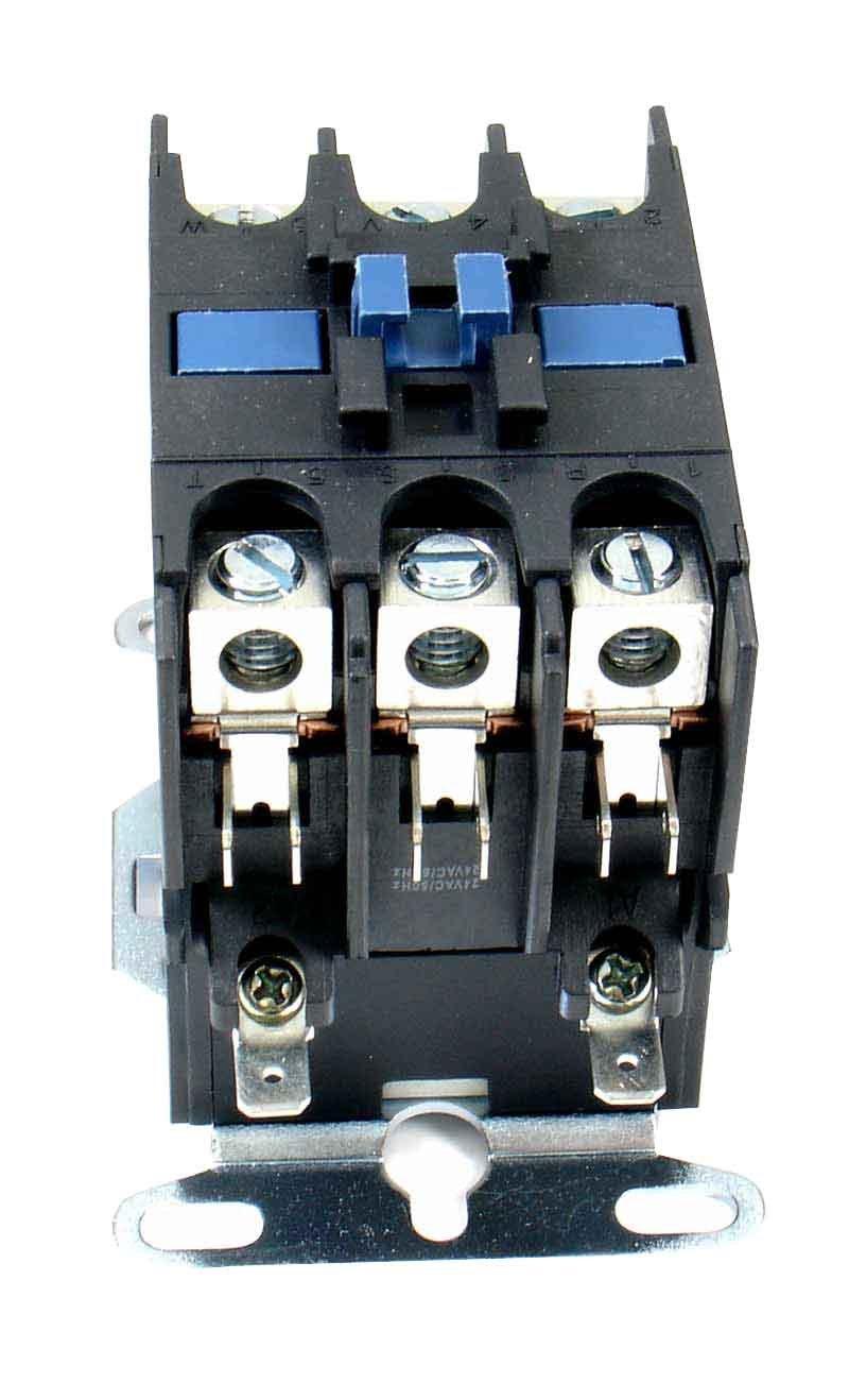 Rheem 42-25103-03 - 40A 3-Pole Contactor 24V Control