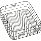 Elkay LKWRB1316SS 12-1/2 Inch by 15-Inch by 7-Inch Wavy Wire Rinse Basket, Stainless Steel Finish