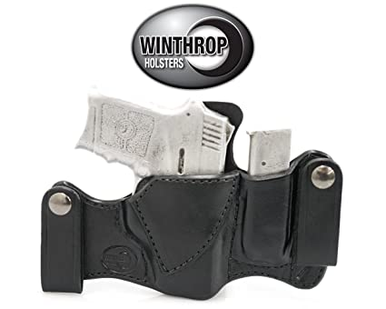 Amazon SW 40 Bodyguard Insight Laser IWB Dual Snap Holster Mesmerizing Holster With Magazine Holder