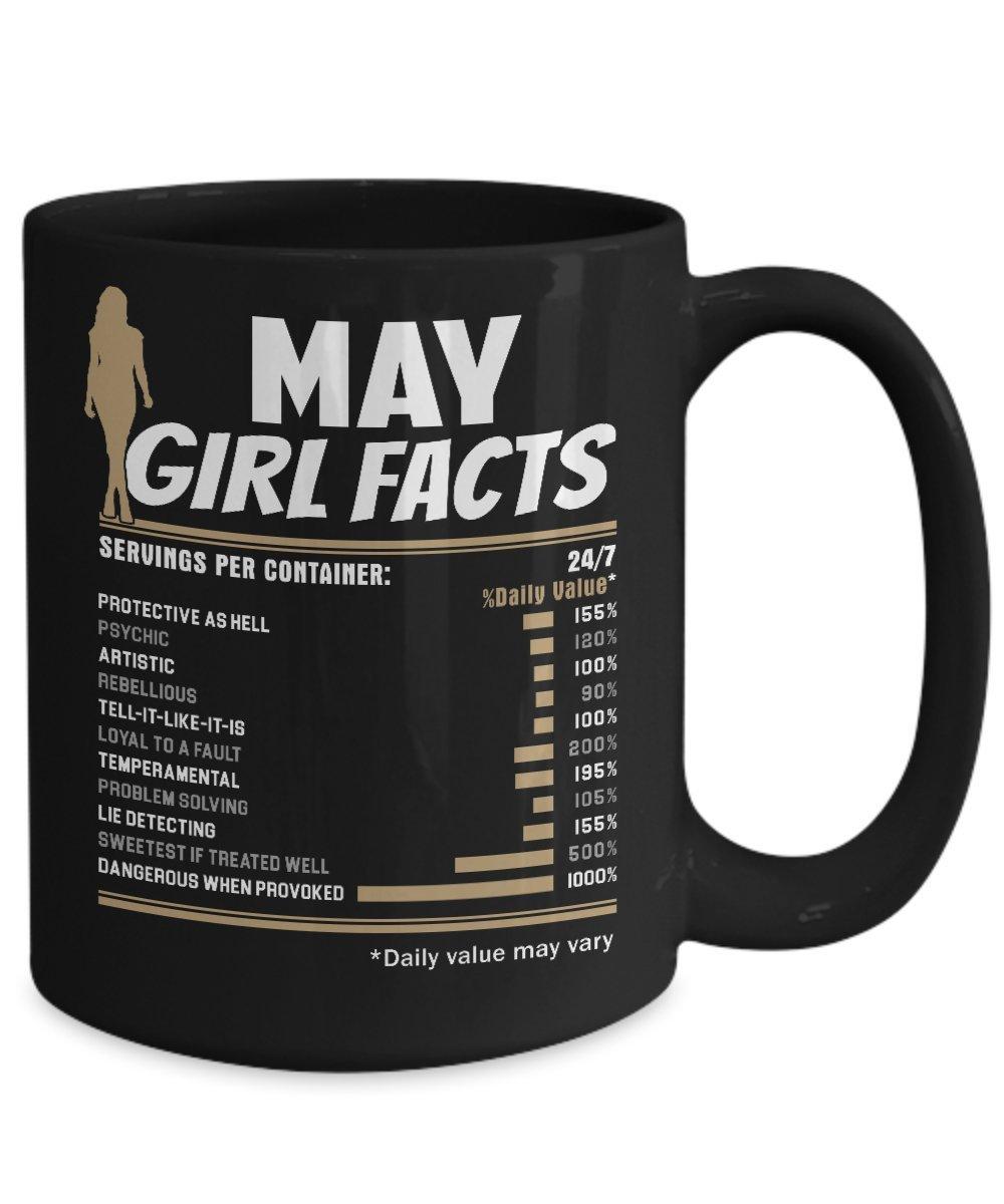 Amazon com: May Girl Coffee Mug - May Birthday Gifts For