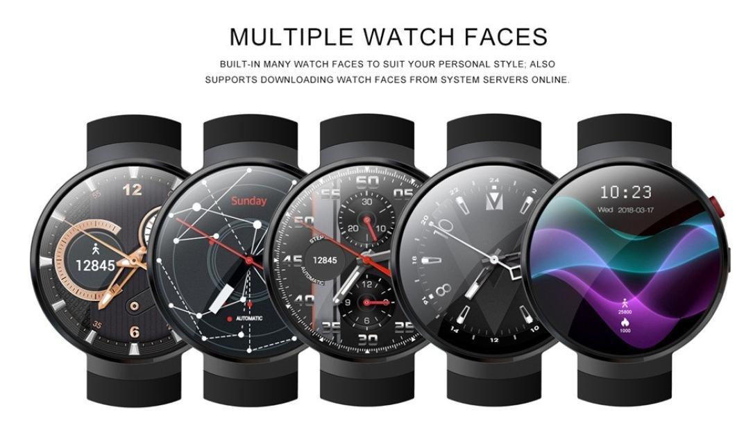 Amazon.com: Opeer New LEMFO LEM7 Smart Watch 2018 4G SIM GPS ...