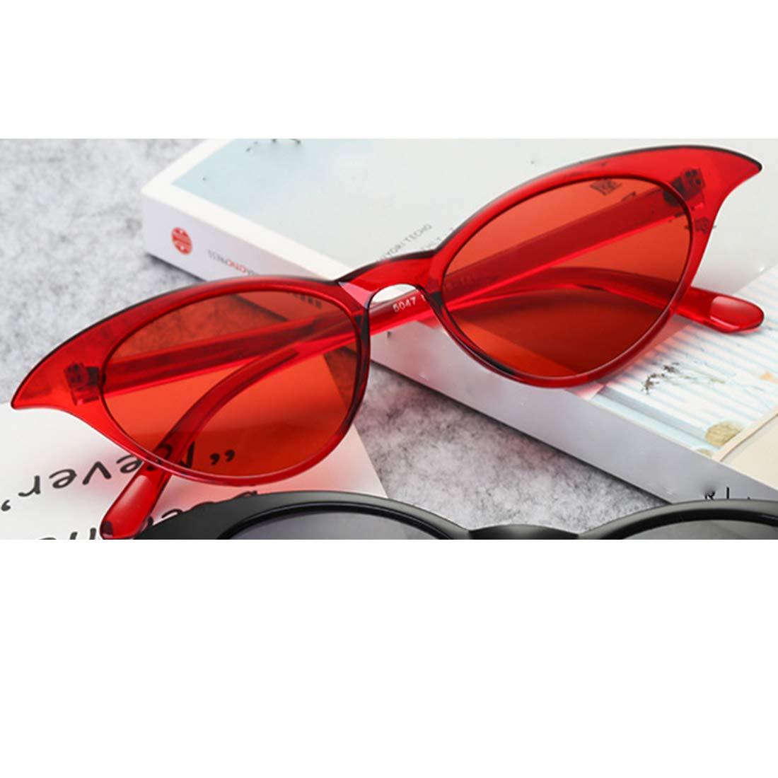 HUAYI Womens//Mens UV400 Outdoor Retro Frame Cateye Sunshade Sunglasses