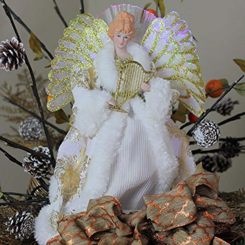Northlight NL00919 Fiber Optic Angel in Gown Christmas Tree Topper by Northlight (Image #3)