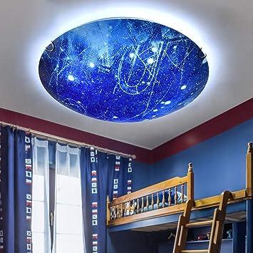 JINWELL New Planet LED Deckenleuchte Jungen und Mädchen Raum