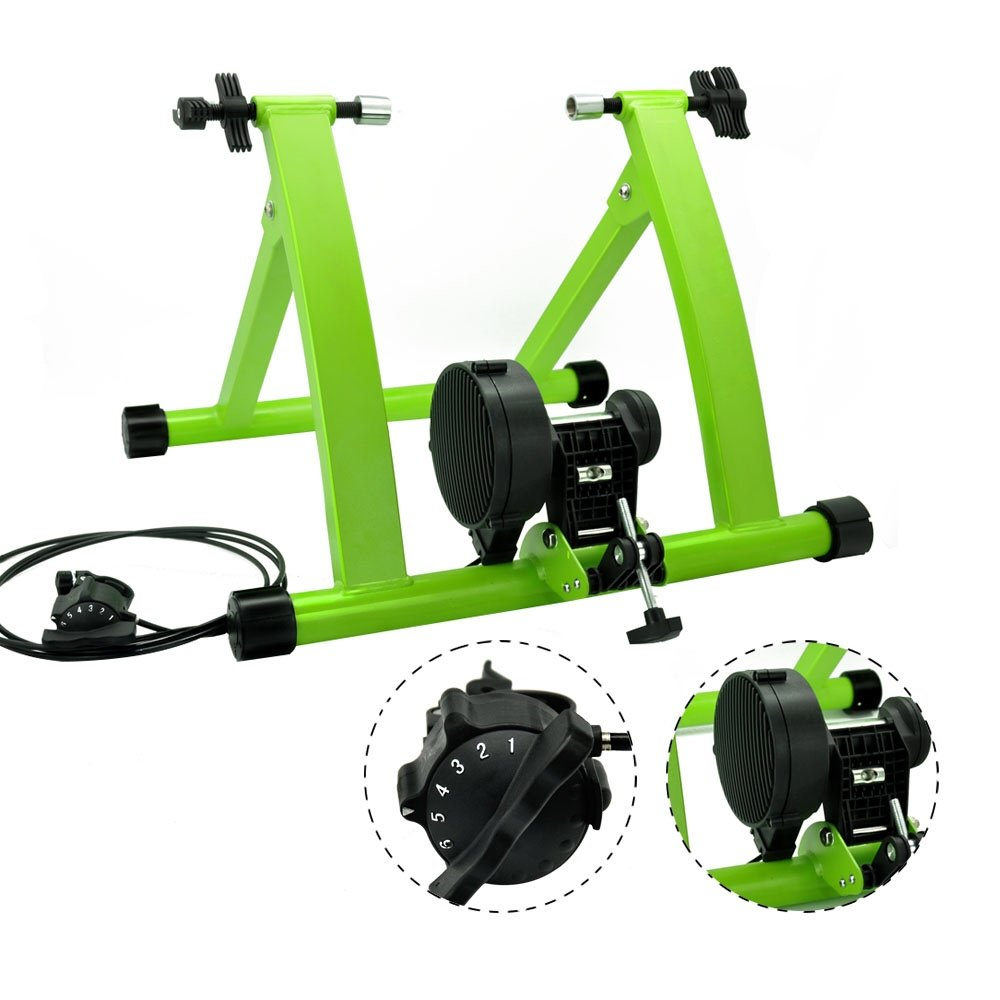 DS Green 6 Levels Magnetic Resistances Bike Trainer Stand by DS (Image #2)