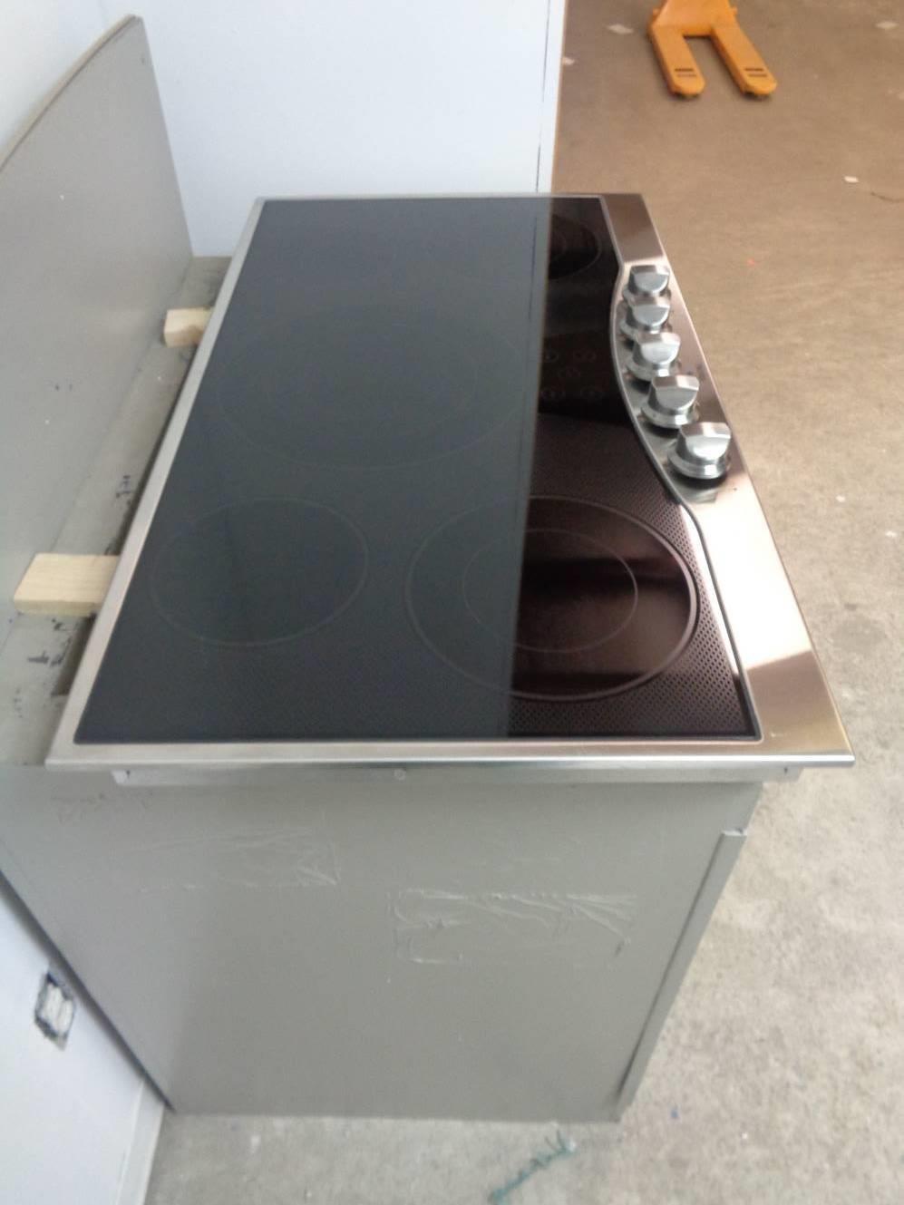 """Amazon.com: Viking 36"""" Electric Cooktop: Aparatos"""