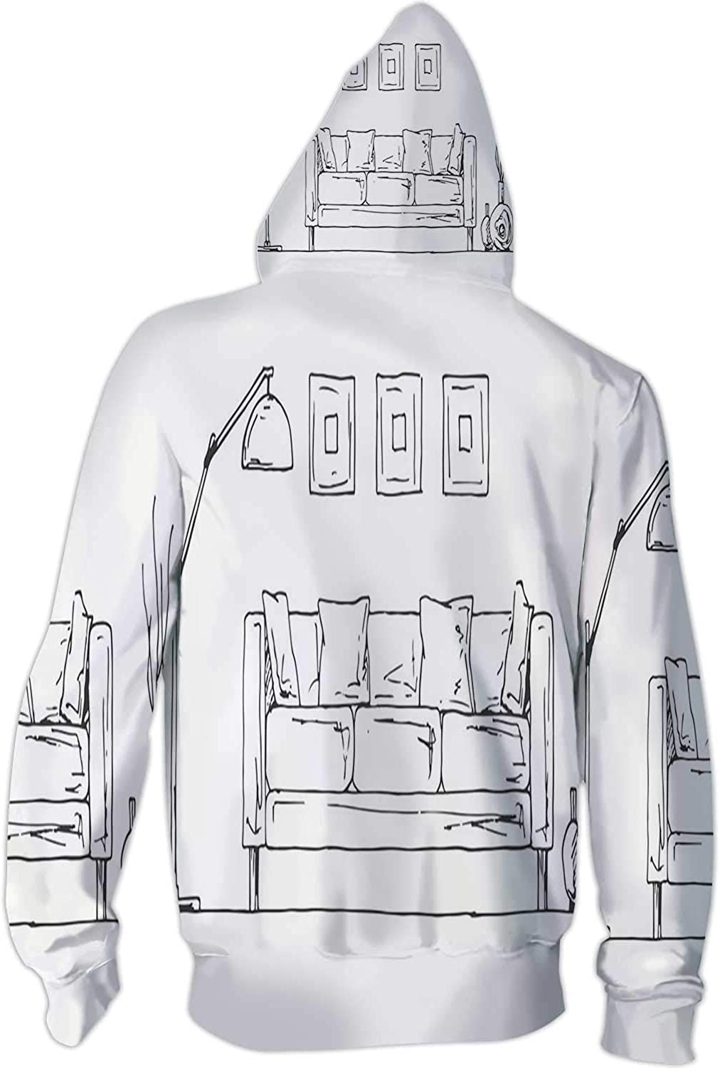 Space S Vector Illustration of Hand Drawn Space Elements Japan,Ladies Full Zip Fleece with Pocket Star