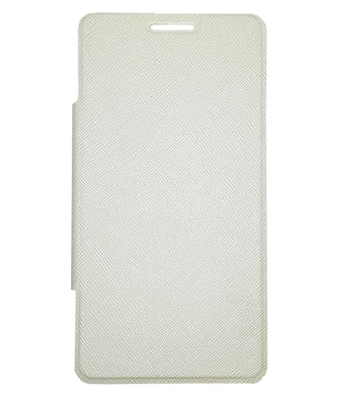 RRTBZ Flip Cover for Micromax Canvas 5 E481  White