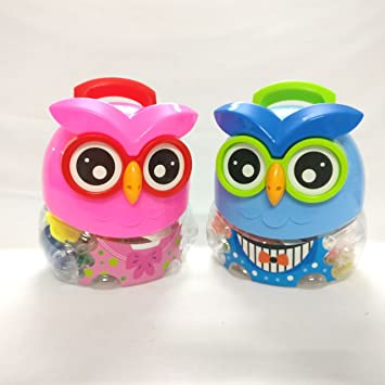 Shopkooky Stylish Owl Shaped Box With Clay Specially Designed For Kids Fun Activity Children At