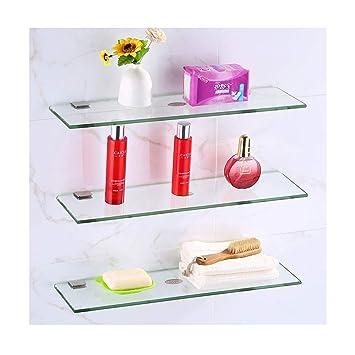 Amazon.com: Estante de cristal para baño de Star-Shelf ...