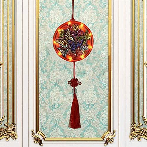 Hongma ダイヤモンド絵画 DIY 装飾 記念品 蝶形 クリスマス用ギフト お誕生日 家族 友達 手作りプレゼント ホーム