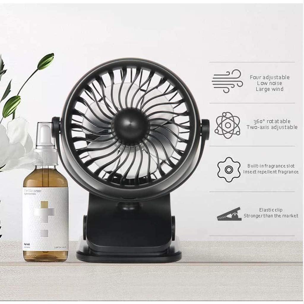 TU-Tower Fans NAUY@ Ventilatore Mini Ventilatore Ricaricabile USB Vento Silenzioso Studente Mini Ventilatore Portatile Mini Fan Apparecchi di Raffreddamento (Colore : Blu) Rosa