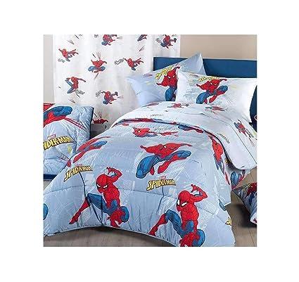 Piumone 1 Piazza E Mezza Disney.Caleffi Trapunta Spiderman Time 1 Piazza E Mezza Disney Amazon It