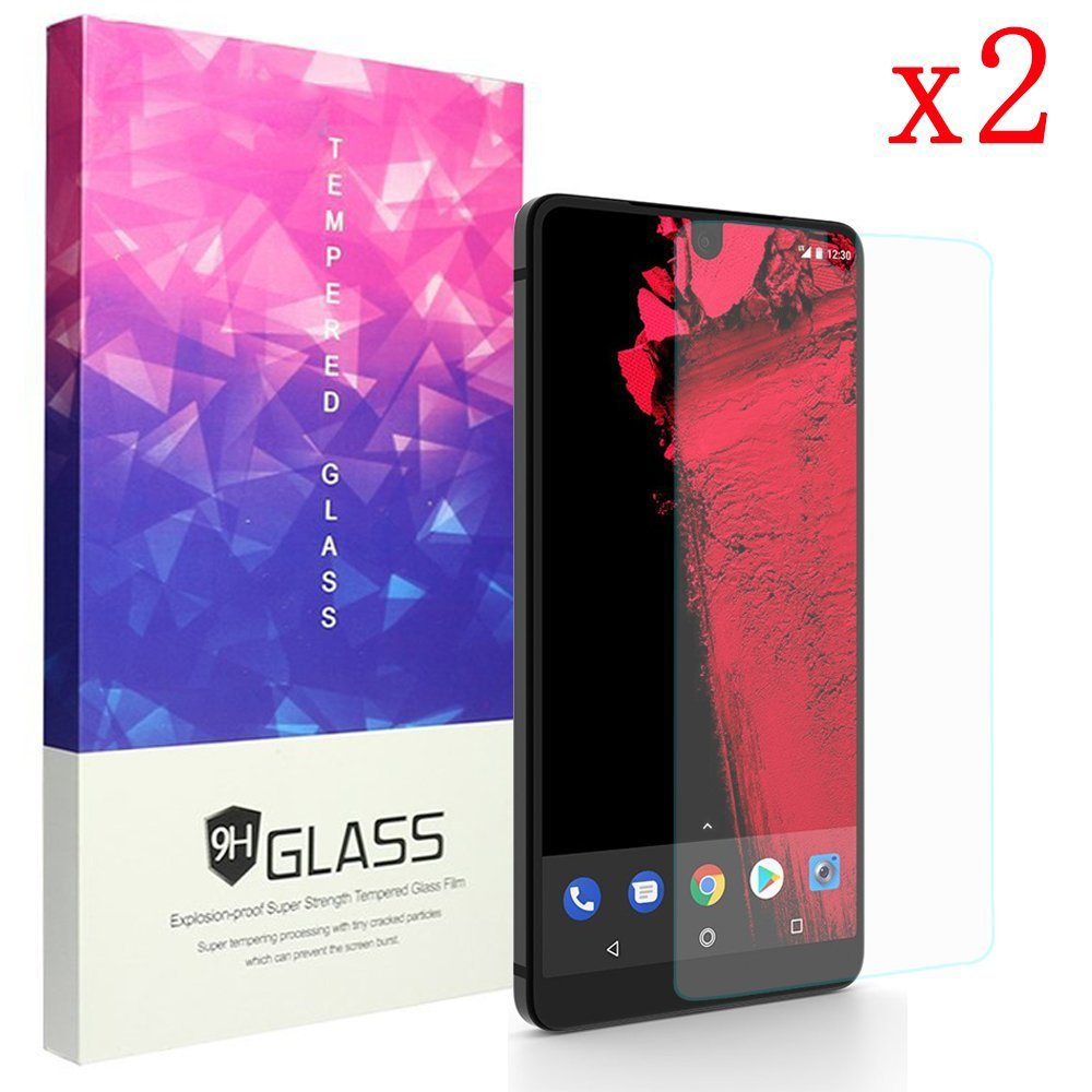 Tanque ceston 9H vidrio para Essential Phone HD & 3d protectores ...
