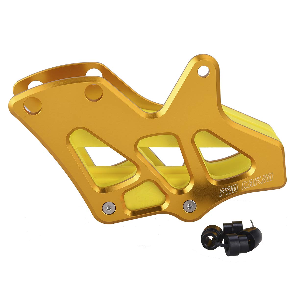 PRO CAKEN CNC Billet Chain Guide Slider Guard for RM250 RMZ450 DRZ400 YZ250 WR450F by PRO CAKEN