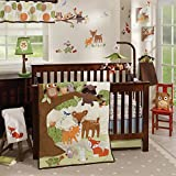 Lambs & Ivy Woodland Tales Multicolor Forest