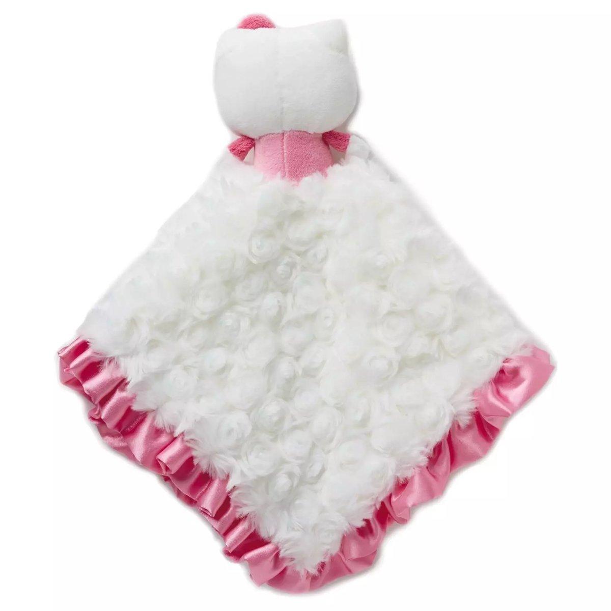 30a587da9 Amazon.com : Hallmark Hello Kitty Itty Bitty Baby Lovey Blanket : Baby
