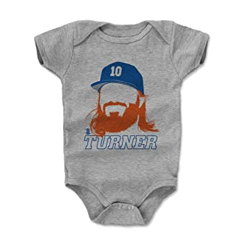 e3ebe0c4 500 LEVEL Justin Turner Baby Clothes & Onesie (3-6, 6-12, 12-18, 18-24  Months) - Los Angeles Baseball Baby Clothes - Justin Turner Silhouette