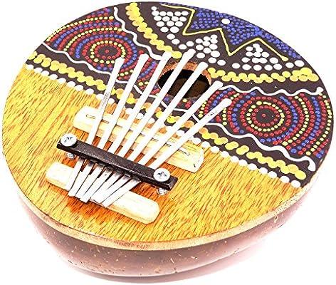 Karimba Kalimba guitarra Piano de pulgada (Sanza Coco instrumento ...