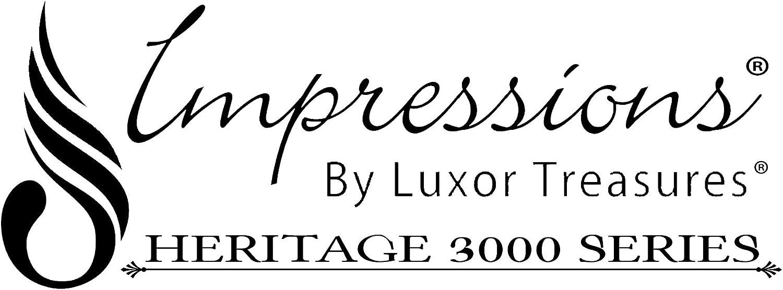 Beige Luxor Treasures MF3000 FLSH STBI CA Wrinkle Resistant 3000 Series Cabana Stripe Full Bed Sheet Set
