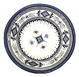 Handpainted Moroccan Medium Ceramic Bowl in Blue