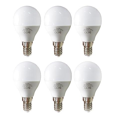 Led G14 Small Base Light Bulb E12 5w Soft White 3000k Not Dimmable Led Energy Saving Light Bulbs 40 Watt Equivalent Candelabra Bulb For Home Ceiling
