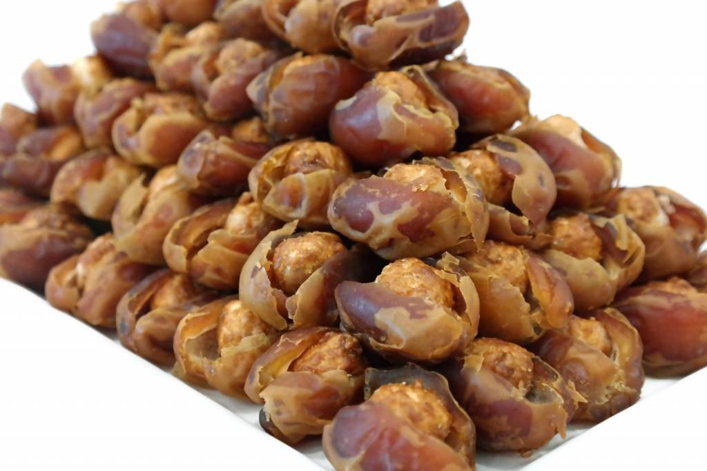Bateel USA Kholas Dates Caramelized Macadamia