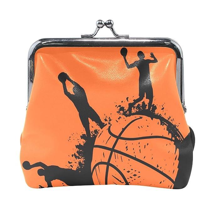XiangHeFu Cartera de mujer Monedero Jugador de baloncesto Deporte ...