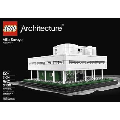 LEGO Architecture: Villa Savoye 21014: Toys & Games