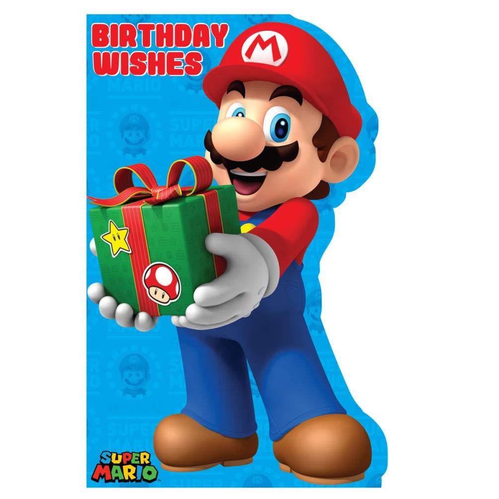 Super Mario Tarjeta Cumpleaños