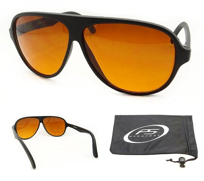 6cb99578b9 Amazon.com  Aviator Blue Blocker Sunglasses with Free Microfiber ...