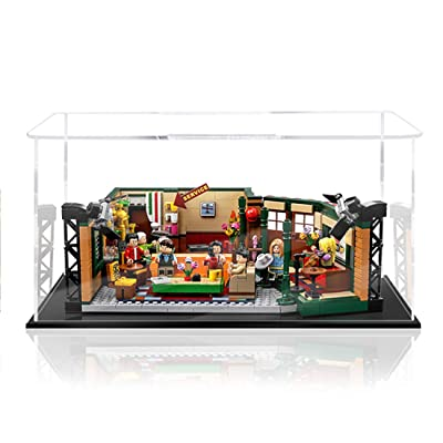 RAVPump Acrylic Display Case Display Box Showcase for Lego Central Perk Friends 21319 (ONLY Display Box): Toys & Games