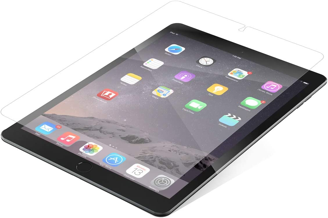 ZAGG InvisibleShield Glass Plus - Tempered Glass Screen Protector Made for The Apple iPad Pro 9.7 Inch - Clear (200101635)