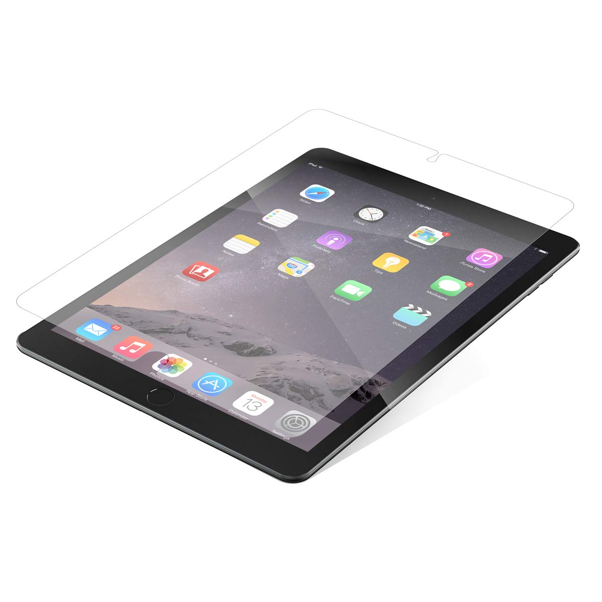 ZAGG InvisibleShield Glass Plus - Tempered Glass Screen Protector Made for The Apple iPad Pro 9.7 Inch - Clear