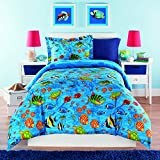 Kidz Mix Under The Sea Comforter Set, Full, Blue