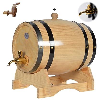 25L / 30L Calidad de la madera vino tinto Dispensador Color primario Barril de roble Vinificación