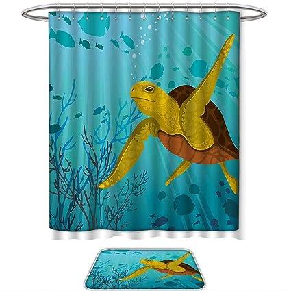 Amazon Com Qinyan Home Pattern Printing Suit Turtle Cartoon
