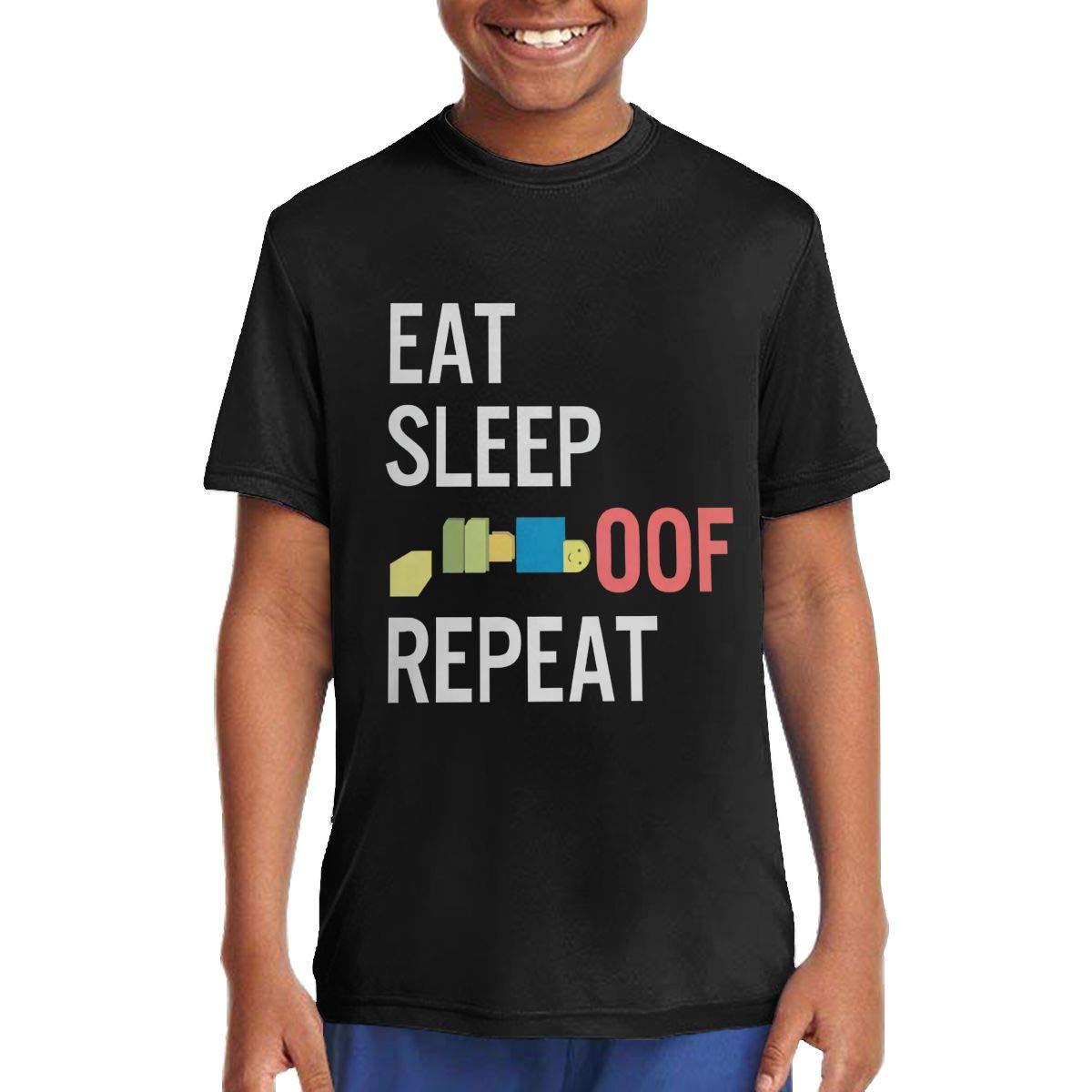 Peilianfactory Childrens OOF Boys Girls Gamer Gaming Cute T-Shirts for Girls//Boys T-Shirts Black