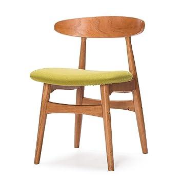 Amazonde Guo Shop Nordic Retro Stühle Esszimmerstühle Massivholz