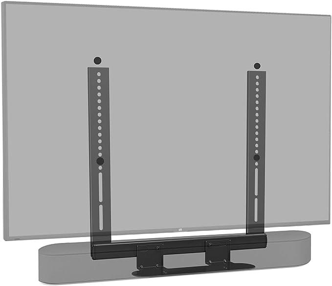 Mounting Dream - Soporte de Barra de Sonido Especial para Sonos Beam, para televisores VESA hasta 600 x 400 mm, con Bloque Deslizante, Montaje en TV, Color Negro: Amazon.es: Electrónica