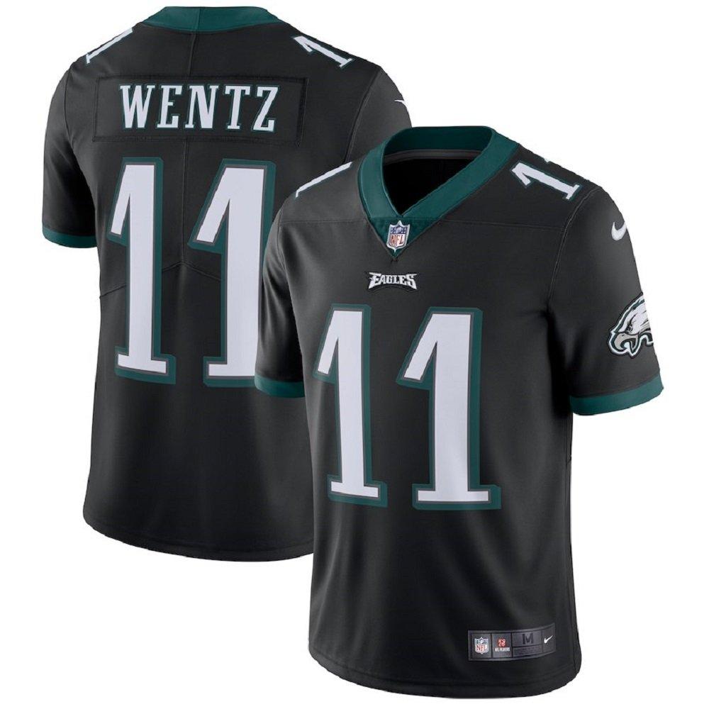 Amazon.com  NIKE NFL Philadelphia Eagles Carson Wentz Authentic On-Field  Black Vapor Untouchable Limited Player Jersey (M)  Clothing cac173d9f
