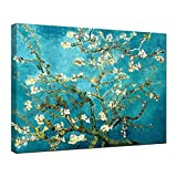 Wieco Art Canvas Print for Van Gogh Oil Paintings Almond Blossom Modern Wall Art for Home D¨¦cor CA-P1XH-3040
