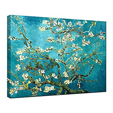 Wieco Art Giclee Canvas Print for Van Gogh Paintings Almond Blossom Modern Artwork for Wall Decor