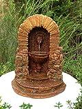 Miniature Dollhouse Fairy Garden Furniture Aged Resin Fountain