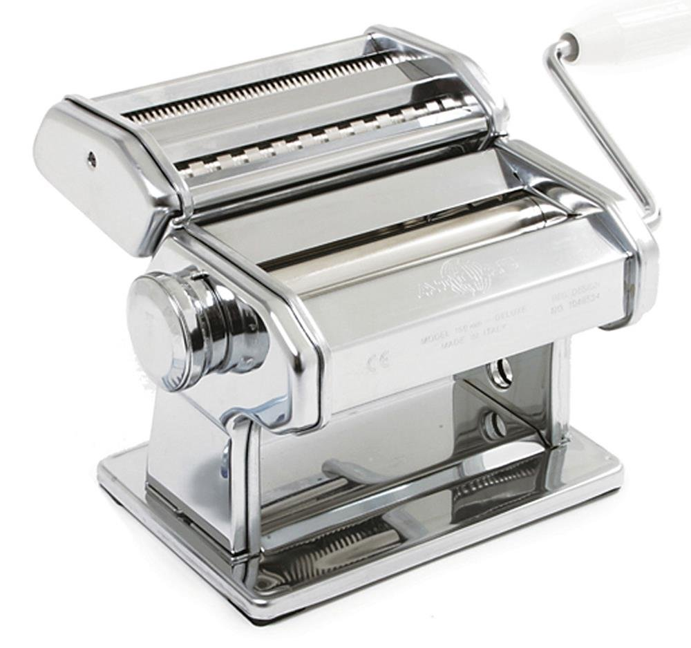 Kitchen Tools Marcato Atlas 150 Deluxe Pasta Machine Noodle Maker Table Clamp Made in Italy