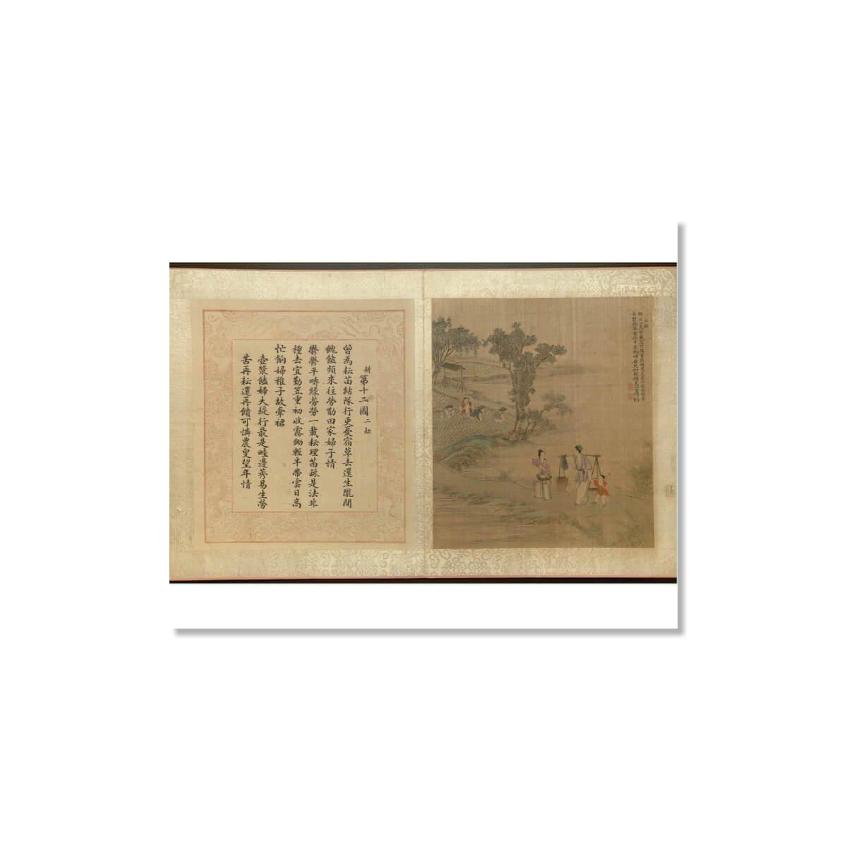 Famous Chinese Painter Jiao Bingzhen Set of 5 Unframed China Fine Art Prints 12x16 inch Wish Pub